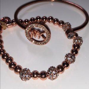 Michael Kors Rose Gold Bracelets (2)